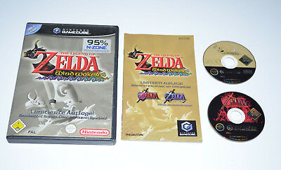 THE LEGEND OF ZELDA THE WINDWAKER LIMITIERTE AUFLAGE Nintendo Gamecube/Wii Spiel