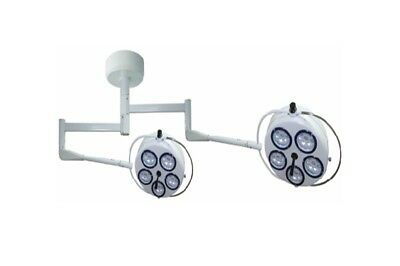 Ceiling Cold light Operating lamp YD02-5+5(LED) Common Arm Medical Light LMWS UK