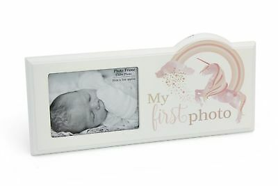 ''My First Photo'' Picture Frame Ultrasound Display Baby Scan Image Holder Rack