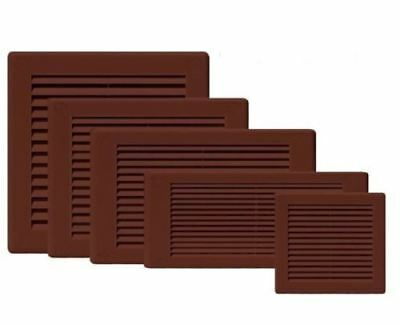 Airvent Grill Ventilation Cover Brown