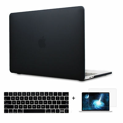 """Laptop Hard Case Shell Keyboard Cover LCD Film For Macbook Pro 13/15"""" Air 11/13"""""""