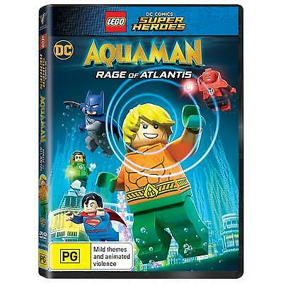 LEGO DC Super Heroes - Aquaman - Rage Of Atlantis (DVD, 2018) (Region 4) New