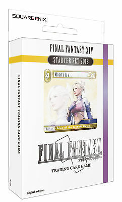 Final Fantasy Trading Card Game Starter Set Final Fantasy Xiv (201 . - BRAND NEW