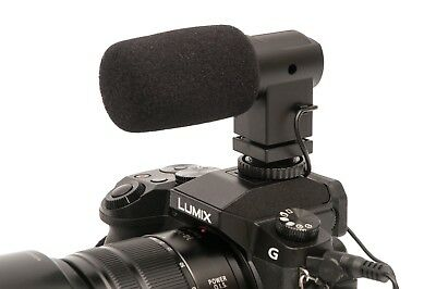 BOYA BY-V01 Mini Stereo X/Y Condenser Microphone Mic for Canon Nikon Sony DSLR