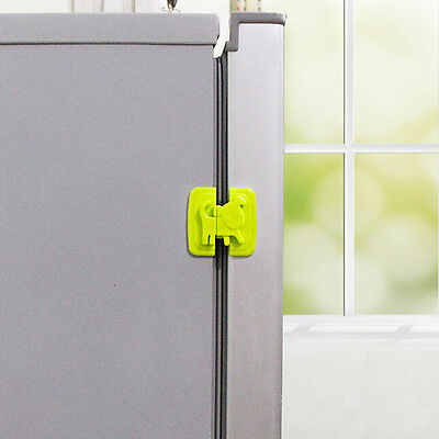 New Kids Child Baby Pet Proof Door Cupboard Fridge Cabinet Drawer Safety Lock FR