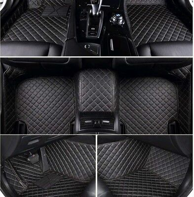 Mercedes E Class W212 Luxury Premium Custom Car Mats Black With