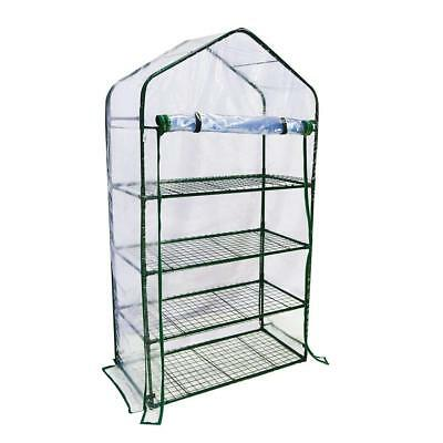"4 Tier Mini Greenhouse Portable Lawn and Garden Green House, 40""L x 20""W x 73""H"