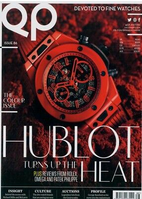QP magazine fine watches issue 86 - hublot/ Rolex/ omega