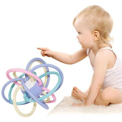 NEW 0+ Infant Baby Kids Toy Ball Sensory Puzzle Teether Activity BPA Free