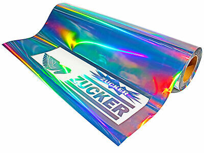 Hologramm Clear Back Chrom Plottfolie Oilslick Folie Plotterfolie 63cm Medium -