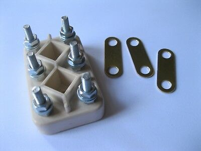 New Electric Terminal Block Km6. Electric Motor Parts. Frame 6Mm Studs