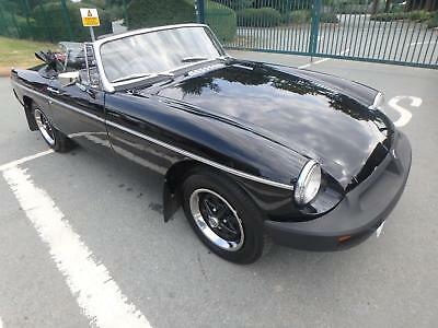MG B convertible 1978 only 63526 miles shrewsbury
