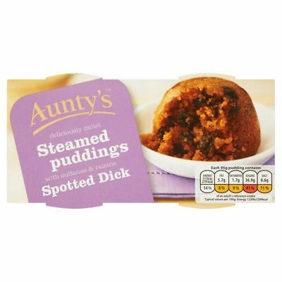 Aunty's Spotted Dick 2 x 95g - (PACK OF 4)