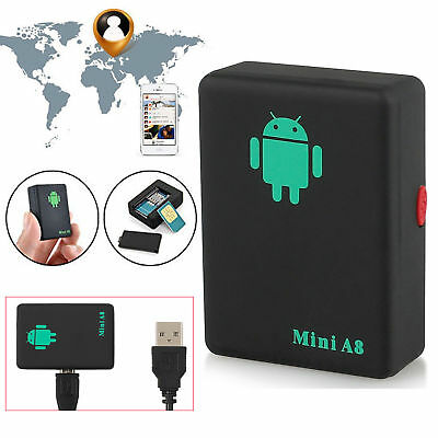Mini A8 Real Time USB GPS Tracker Car Global GSM/GPRS Locator Tracking Device
