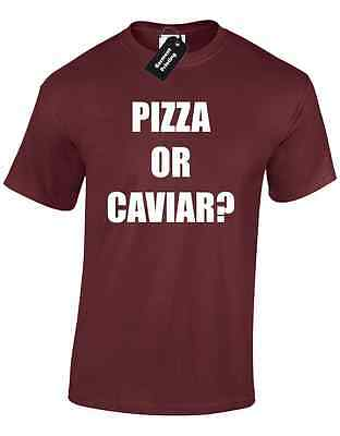 6d711982 Pizza Or Caviar Mens T Shirt Cool Fashion Hipster Celine Swag Dope Cara  Paris