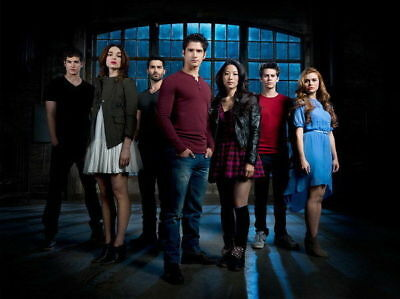 159961 Teen Wolf - MTV Blood Action Thriller TV Show Wall Print Poster AU