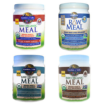 Raw Organic Shake & Meal Replacement by Garden of Life - 4 Flavour Options!