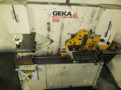 GEKA Hydraulic Ironworker, 55 Ton, Model# 50SD