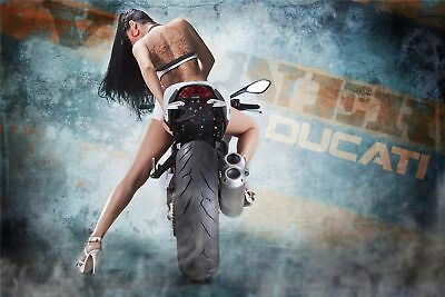 167828 Motorbikes Motorcycles Superstreetbike bike Art Wall Print Poster AU