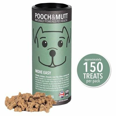 Pooch & Mutt Move Easy Mini Bone Treats For Dogs 125g (PACK OF 4)
