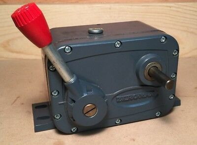Used Zero Max E2 Drive CW 0 - 400 Power Block Variable Speed Reducer