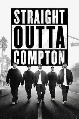 169475 Straight Outta Compton Ice Cube MC Ren HIPHOP Wall Print Poster AU