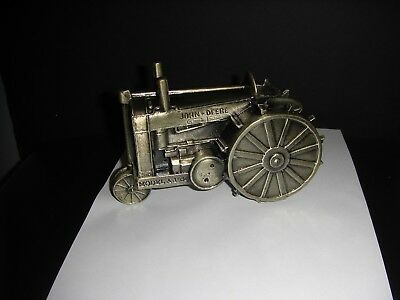 New in Box John Deere Model A GP 1934 Tractor Coin Bank 1990 First Edition