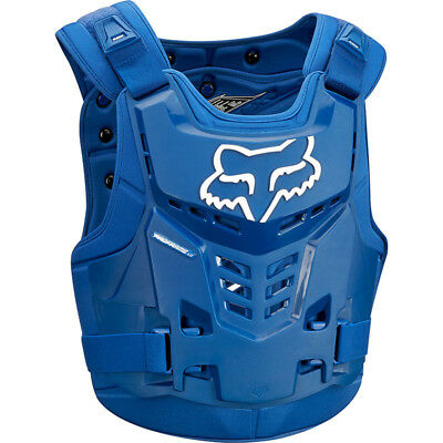 Fox Racing NEW Mx 2018 Proframe LC Blue Adults Motocross Dirt Bike Body Armour