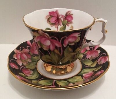 "Royal Albert Provincial Flower Series ""Pitcher Plant"" Tea Cup And Saucer Set"