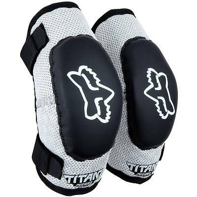 Fox Racing Mx Titan Pee Wee Kids Youth Motocross Dirt Bike Toddler Elbow Guards