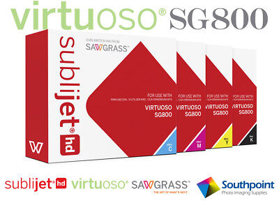 Sawgrass Sublijet HD Extended Size Ink Set for Virtuoso SG800 Printer