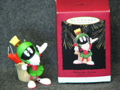 Hallmark Marvin the Martian Looney Tunes Keepsake Ornament 1996 - NEW Old Stock