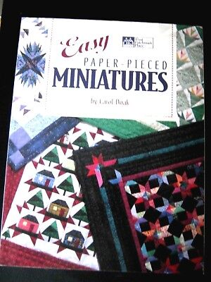 Patchwork: Easy Paper-Pieced Miniatures – Carol Doak