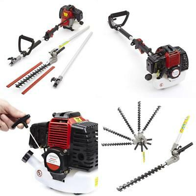 Trueshopping 52Cc Petrol Long Reach Pole Garden Hedge Trimmer Branch