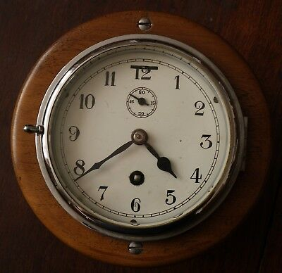 small Smiths bulkhead cabin clock spares or repairs