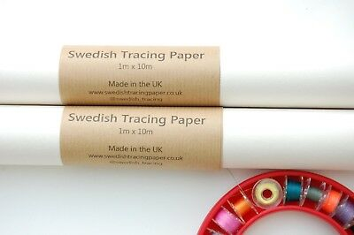 Swedish Tracing Paper Dressmaking and  Pattern Alterations By the Metre or Roll!