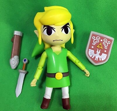 "World of Nintendo LINK The Legend of Zelda Wind Waker 4"" Series 2-1 COMPLETE"