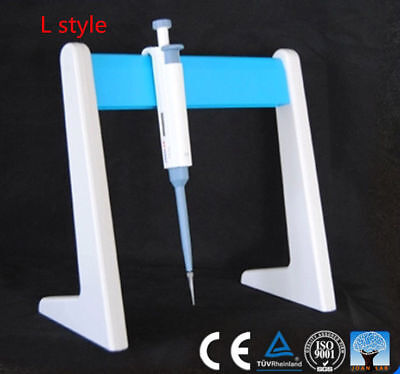 Latest Universal Pipette Holder Lab Pipettor Rack Stand Fast