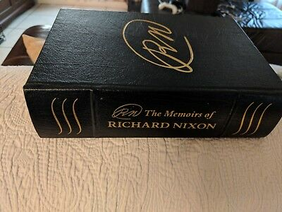 The Memoirs of Richard Nixon leather signed 1978