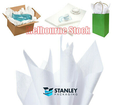 Tissue Paper Ream Acid Free 280 Sheets 660mm x 400mm White 18gsm Gift Wrap