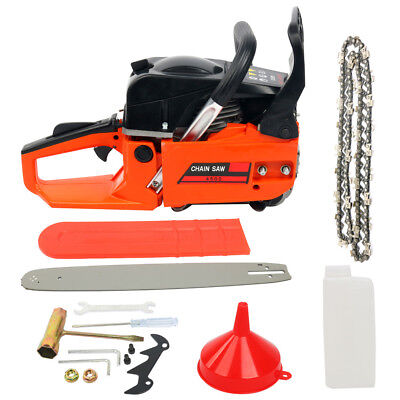 "45cc Petrol Commercial Chainsaw, Guide bar size: 18"" 2-stroke Tree Pruning"