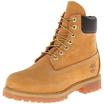MEN'S 6-INCH PREMIUM WATERPROOF BOOTS Timberland wheat butter 10061 size 8-13