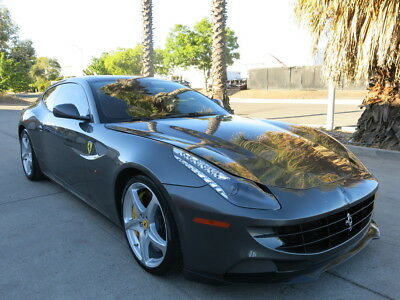 2014 Ferrari FF AWD ‎6.3 L F140 EB V12/651-hp. 2014 Ferrari FF damaged wrecked rebuildable salvage Low Reserve 14 AWD low miles