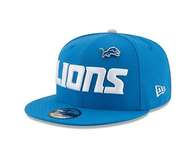 huge selection of 34912 399ae Detroit Lions New Era PIN SNAP 9Fifty Snapback NFL Adjustable Hat