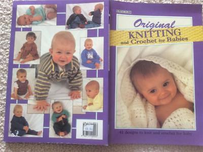 Harmony Original Knitting And Crochet For Babies 41 Designs Knit Patterns