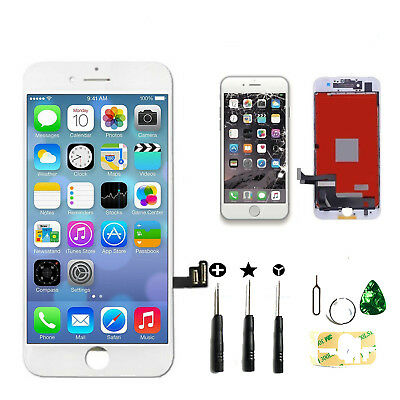 For iPhone 7 Plus LCD Touch Digitizer Screen Full Assembly Replacement Kit White