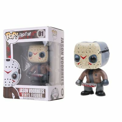 Pop Movies Friday the 13th - 01 Jason Voorhees Vinyl Figure Toy Collection
