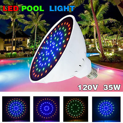 120V 35W Swimming Pool LED Light Color Changing for Pentair Hayward Pool Light