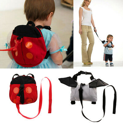 Prettyia Little Kid and Toddler Safety Harness Backpack with Anti-lose Leash