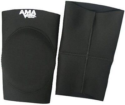 AMA Black Alternate Knee Pads MEDIUM - NEW PAIR - Australia Post